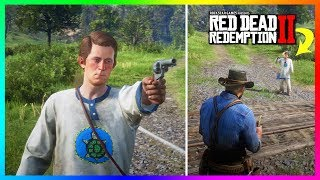 What Happens If Arthur DOESN'T Stop Jamie From Shooting Himself In Red Dead Redemption 2? (RDR2)