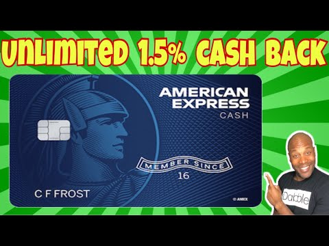 American Express Cash Magnet Card - Amex