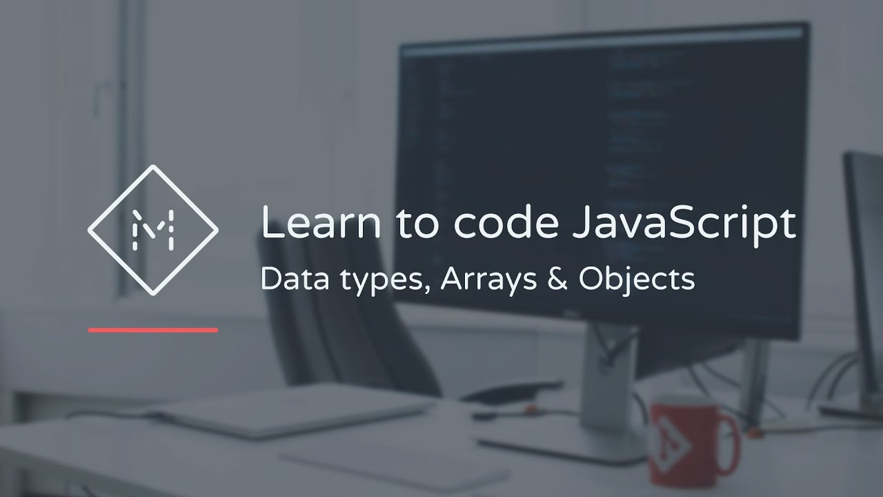 Learn to code javascript data types arrays objects youtube learn to code javascript data types arrays objects baditri Gallery