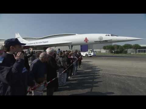 "Concorde MSN1 ""goes home"" to Aeroscopia"
