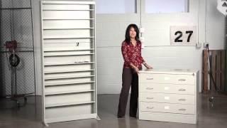 Safco Audio/video Microform Cabinet