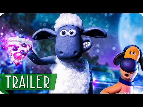 SHAUN DAS SCHAF 2: UFO ALARM Trailer 2 German Deutsch (2019)