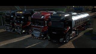 Конвой в Euro Truck Simulator 2 от TRADE AUX 30.08.2019