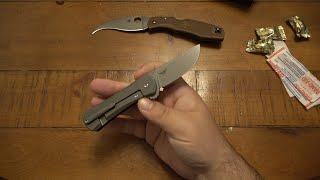 KNIFE TRADE : Another RARE Original Spyderco Matriarch & Two Sun Knives...