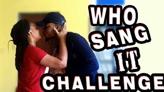 Who Sang It (Challenge) Getting Kisses - Zfancy