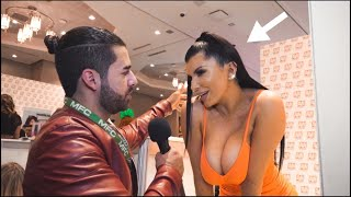 ASKING FAMOUS PORN STARS IF SIZE MATTERS (AVN AWARDS 2020) Las Vegas