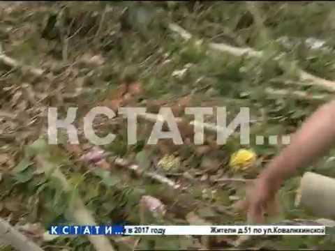 Коммунальщики разгромили кладбище и перепутали памятники и кресты