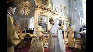 Пресвитерская и диаконская хиротонии / The Ordination to priesthood and diaconate
