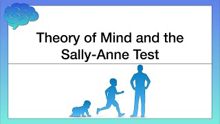 Theory of Mind and the Sally Anne Test