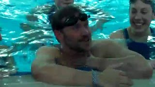 Will Young | Sport Relief 2016 | Clash of the Titans | Synchronised Swimming (Behind the Scenes)