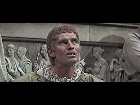 Charlton Heston Mark Antony speech