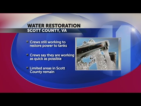 Scott County, VA customers may experience water outages due to power outage