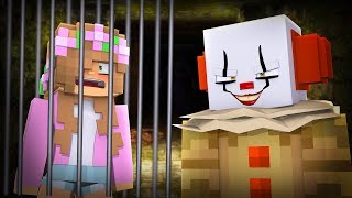 IT THE CLOWN MINECRAFT - HE TOOK LITTLE KELLY!