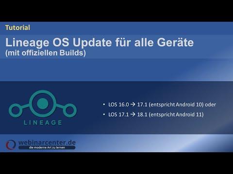 Tutorial: Update von Lineage OS 14 1 ▷ 15 1 bzw  15 1
