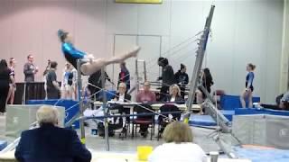 Nicole Fisher 2021- Berks East Gymnastics Bars