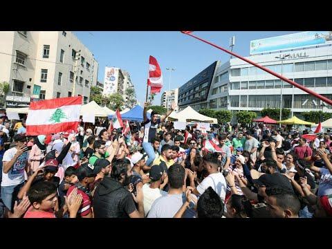 الاحتجاجات في لبنان: استقالة وزراء حزب القوات اللبنانية برئاسة جعجع من حكومة الحريري  - نشر قبل 2 ساعة