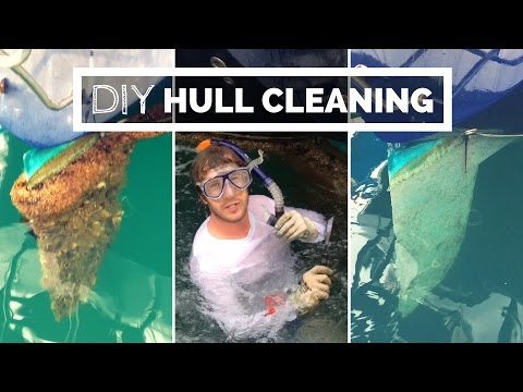 Boat Owners: Save Money With DIY Hull Cleaning | Underwater