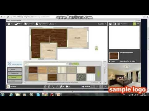 let 39 s show feng shui wohnungsplaner german youtube. Black Bedroom Furniture Sets. Home Design Ideas