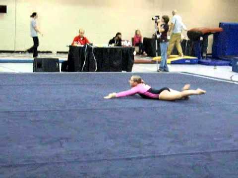 discovery gymnastics 2010 bama rama mckenzie lafferty floor youtube