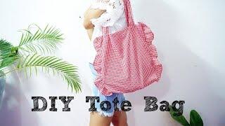 DIY Tote Bag   ทำกระเป๋าผ้าสไตล์เก๋ๆ   N2N_STYLE