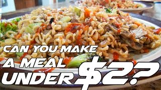 Making a Cheap Meal With $2 | Cooking With Jayology | Episode 4