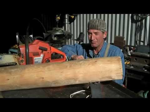 Logman Log Furniture Tenon Maker