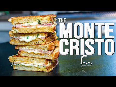 THE BEST MONTE CRISTO SANDWICH | SAM THE COOKING GUY 4K