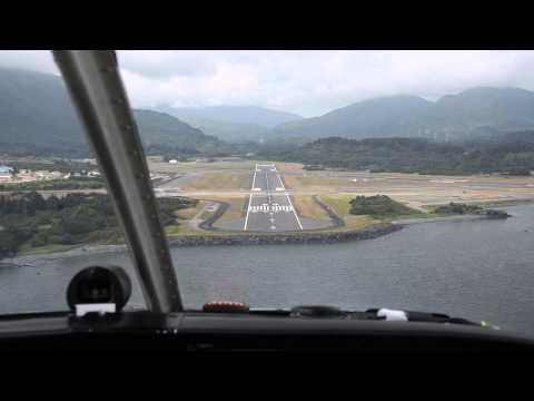 N15018 Alaska Bound Landing Kodiak Island Airport