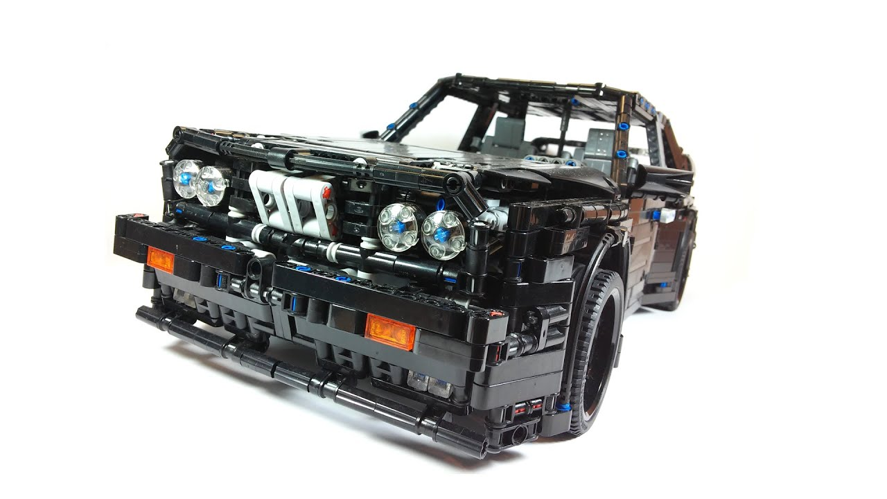 LEGO TECHNIC BMW M3 E30 - YouTube