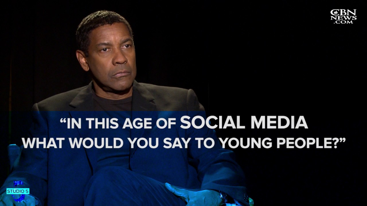 Denzel Washington on Social Media
