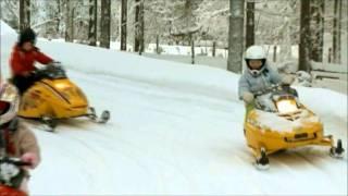 Snowmobile kids