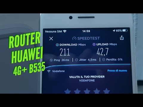 Come ottenere una super connessione con HUAWEI B535 4G+ ROUTER