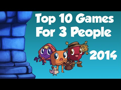 Top 10 Games for 3 Players