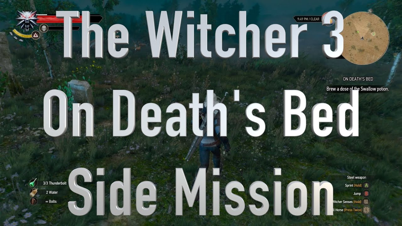 the witcher 3 guide drowner brain