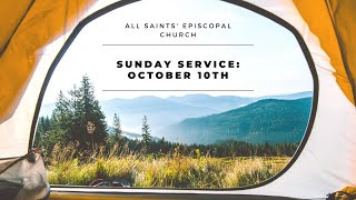 Sunday Service: October 10th, 2021