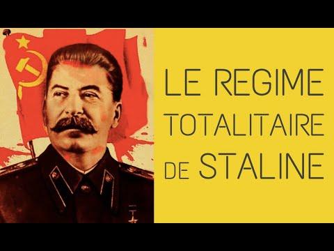 De la révolution russe au totalitarisme stalinien