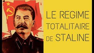 3°- Le régime totalitaire de Staline