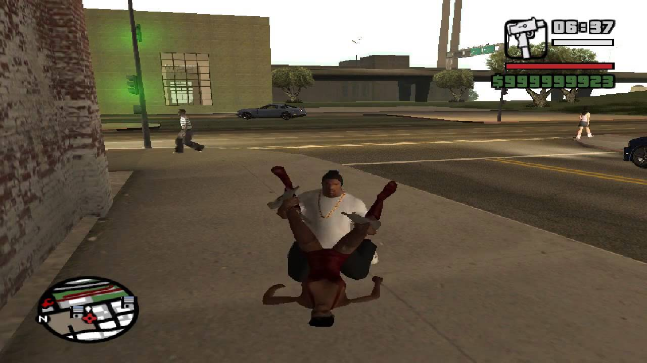 how to have sex in gta san andreas