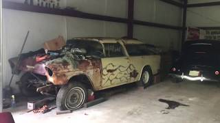 BIG TIME HOARD of  Barn Find Musclecars and Street Rods Uncovered In TN!!!