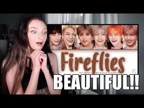 NCT DREAM - Fireflies Lyrics Reaction!! - YouTube