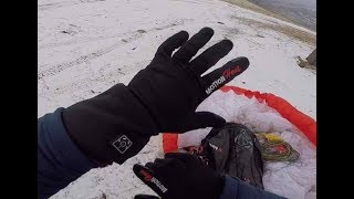 Heated gloves review! Power In Motion heated gloves.