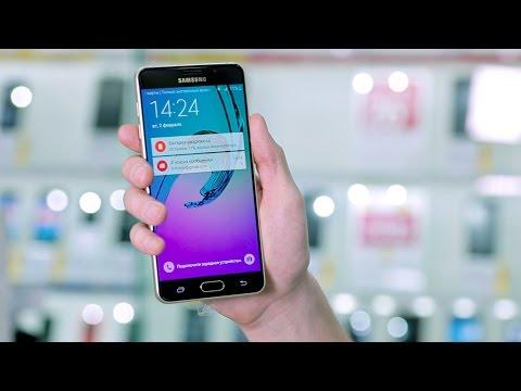 Смартфон Samsung Galaxy A7 - Обзор. Новая модель 2016 года.