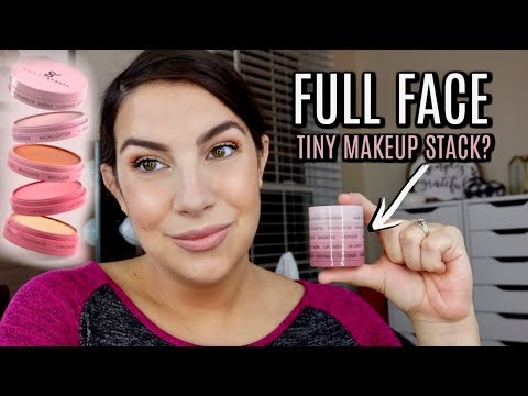 MINIMALIST MAKEUP: Full Face in a Tiny Stack? thumbnail