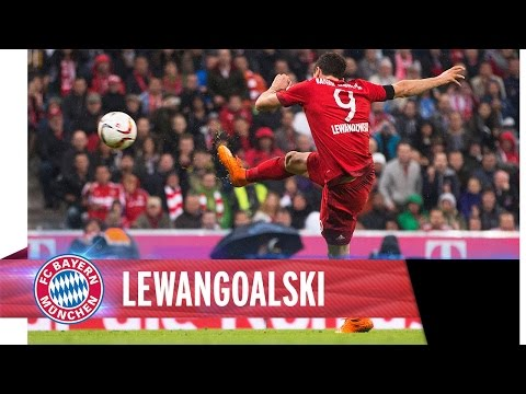 Lewandowski vs. Wolfsburg - 9 minutes, 5 goals I FCB.tv