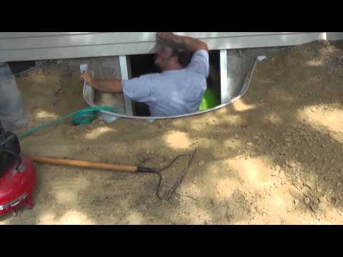 Time Lapse Installation Video of a Basement Egress Window