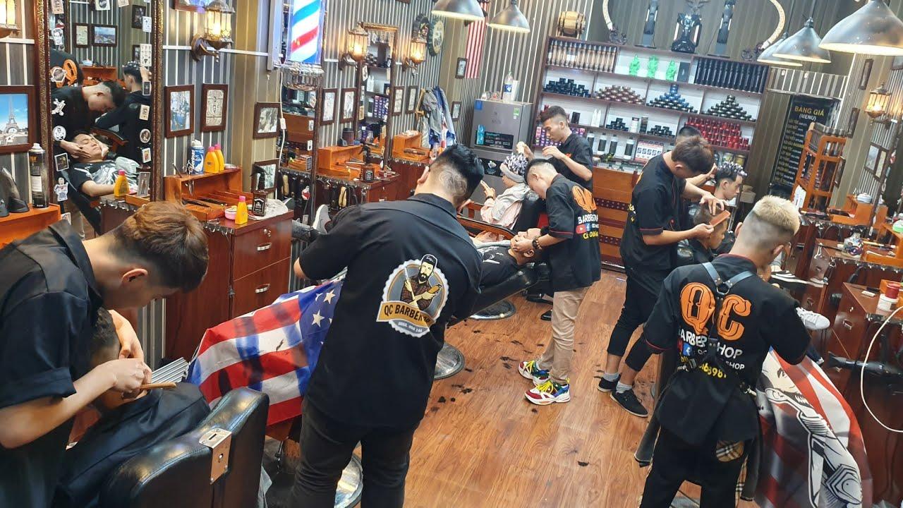 barber shop cắt tóc rẻ đẹp nhất Sài Gòn