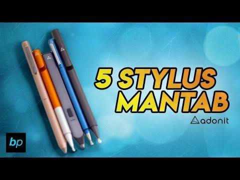 5 STYLUS KEREN UNTUK SEMUA SMARTPHONE ! ADONIT STYLUS Unboxing & Review INDONESIA | Buka paket