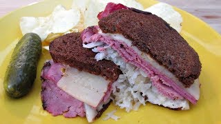 Reubon Sandwich with Corned Beef and Pastrami -  PoorMansGourmet