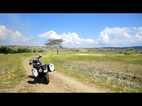 North and South America Motorcycle Adventure on BMW GS, E01: Panama City, Panama to Bogota, Colombia