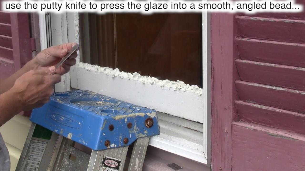How to Reglaze Window Glass - Do-it-yourself-help com